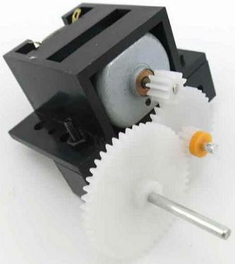 Механизм RA040. Редуктор (тип 2) с мотором