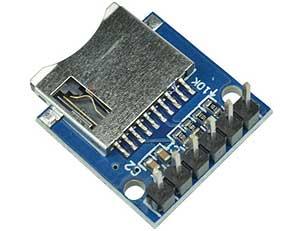Модуль RC028:  Mini SD / Micro SD CARD с разъёмом