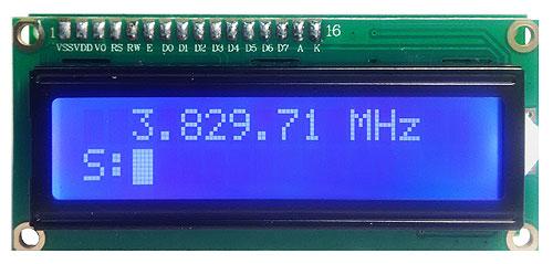 Модуль RI022. Цифровая шкала с S-метром (Радиолюбитель)