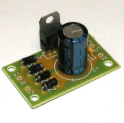 Радиоконструктор RP101. Стабилизатор напряжения 5 В, 1,5 А