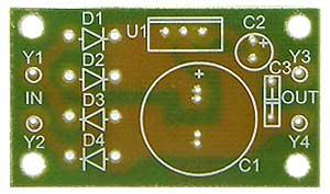 Радиоконструктор RP103. Стабилизатор напряжения 12 В, 1,5 А