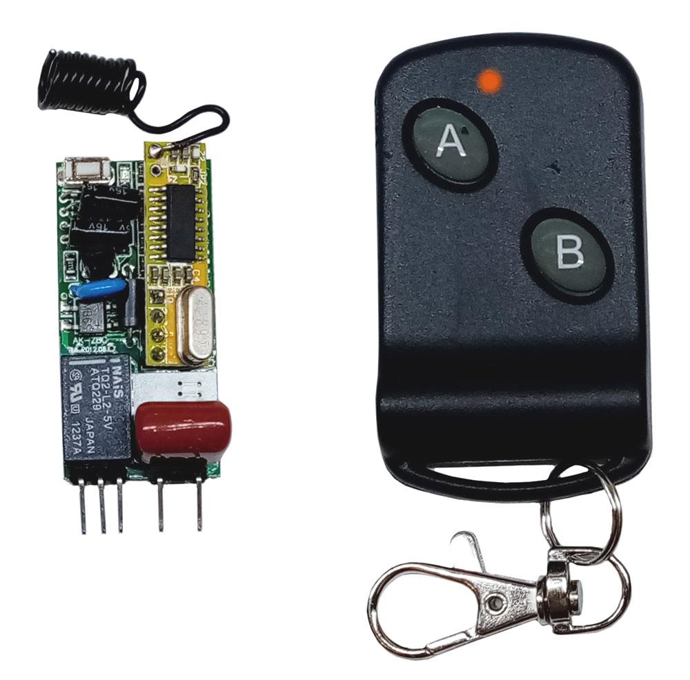 RMC003. RC-1-220-SUPER-MINI. Выключатель дистанционный одноканальный на радио частоте