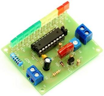 Радиоконструктор RS016. Индикатор выходной мощности УНЧ