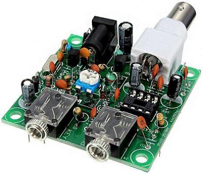 Радиоконструктор RF024 : QRP радиостанция диапазона 40 метров для работы в CW - режиме (телеграфом)