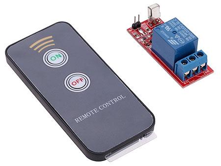 Радиомодуль RMC007 Реле с ИК пультом