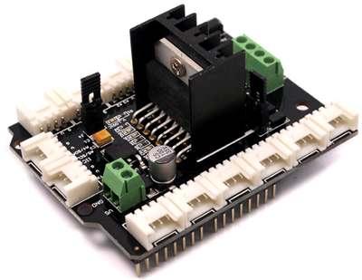 Модуль RA045 «Контроллер двигателей постоянного тока  или шагового двигателя на базе L298N»