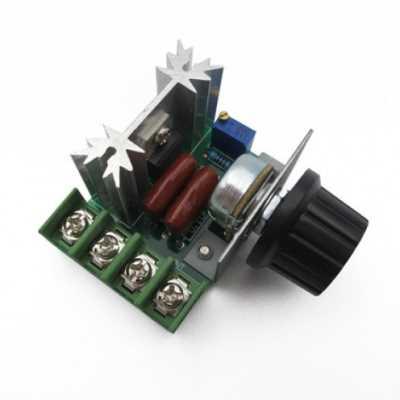 Модуль RP036. Регулятор скорости вращения двигателя переменного тока
