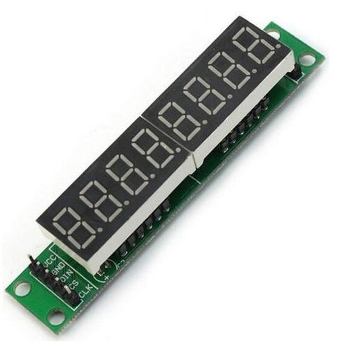 Модуль RC038. LED индикатор на 8 знакомест
