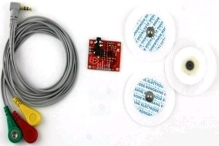 Модуль RC039. «Модуль ЭКГ на базе микросхемы AD8232» для Arduino.