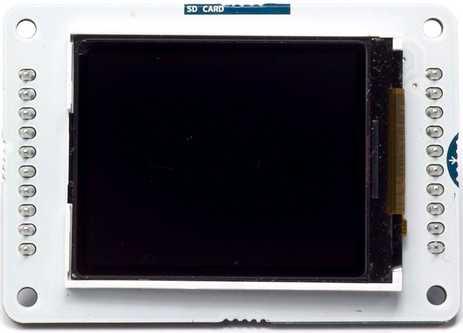 Модуль RC041. Дисплей для Arduino Esplora