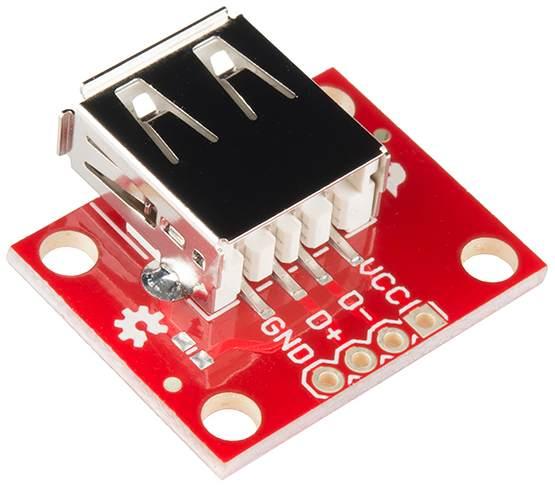 Модуль RC042. Модуль разъема USB A