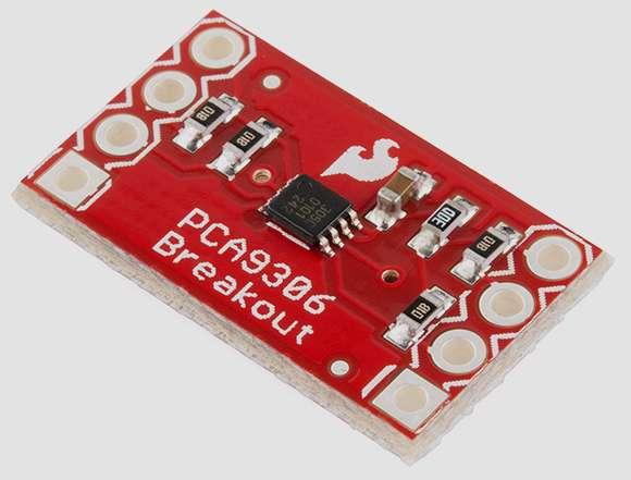 Модуль RP037. Преобразователь логических уровней I2C на PCA9306