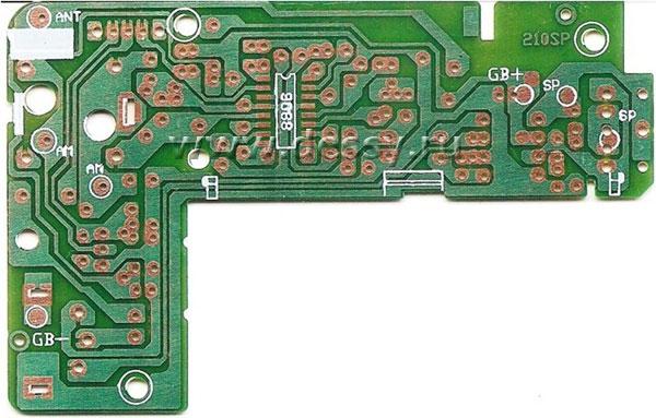 Радиоконструктор RF027. «Двухдиапазонный малогабаритный AM/FM приемник»
