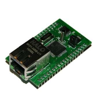 Ethernet модуль Jerome  для управления внешними цепями / нагрузками и мониторинга / измерения различных параметров (напряжение, температура и т.д.) по локательной сети (LAN)
