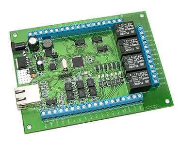 Сетевое многофункциональное реле Laurent-2 для управления цифровыми и аналоговыми устройствами, датчиками и исполнительными механизмами через Ethernet (LAN) интерфейс