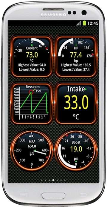 Модуль RAM002. Мультипротокольный OBD-2 адаптер «ELM 327 MINI». Внешний вид программы