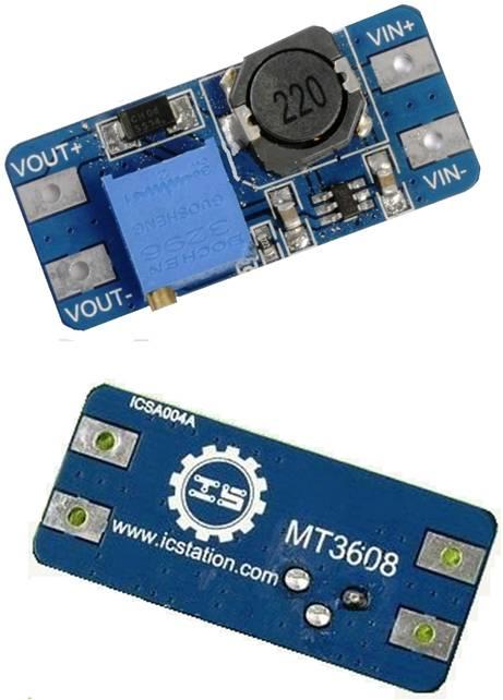 Модуль RP039. Преобразователь напряжения DC/DC на микросхеме MT3608