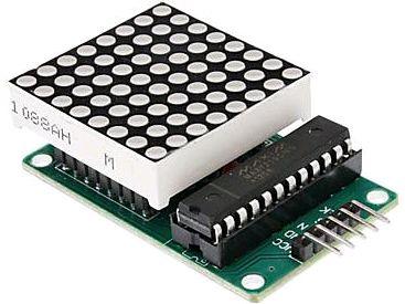 Модуль RL014. LED-матрица 8 x 8
