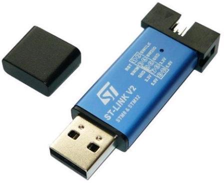 ST-Link v2 Программатор STM8, STM32. RC050