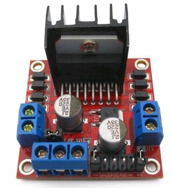 Модуль RA061. Контроллер двигателей на базе L298