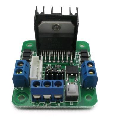 Модуль RA063. Контроллер двигателей на базе L298