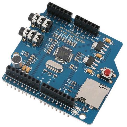 Модуль RS024. MP3–плеер-рекордер для платформы  Arduino с поддержкой micro-SD карт и возможностью воспроизведения потокового audio (интернет-радио)»