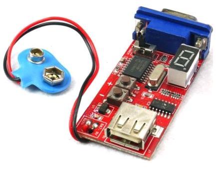 Модуль RI035. Генератор VGA сигналов (с двумя вариантами внешнего питания)
