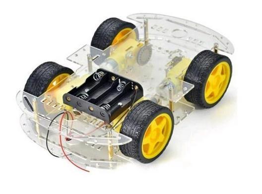 Набор RM006. Четырёх колёсное шасси Smart car