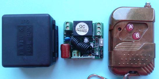 Модуль RMC016. Миниатюрная одноканальная система дистанционного управления