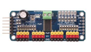 Модуль RC056. 16-и канальный ШИМ контроллер