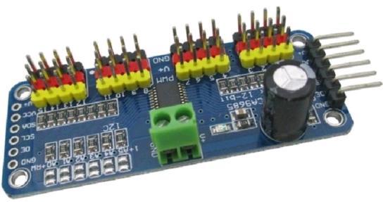 Модуль RC056. 16-ти канальный ШИМ контроллер