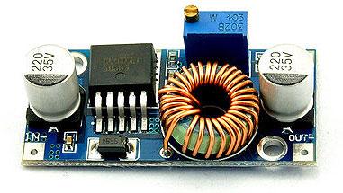 Понижающий DC-DC преобразователь  5 A LM2596. Модуль RP042