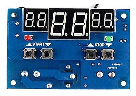 Радиоконструктор RA068. Цифровой интеллектуальный термостат с диапазоном установки температуры 9...99 градусов Цельсия