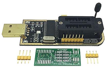 USB - программатор EEPROM памяти для БИОС. Модуль RC059