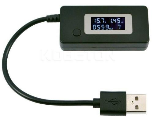 USB – тестер для проверки зарядных устройств, батарей и внешних аккумуляторов (powerBank). Модуль RI039