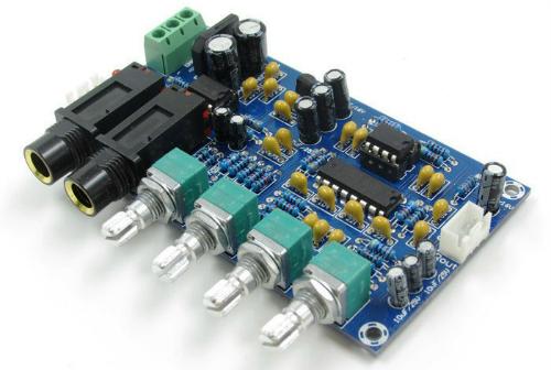 Модуль «Микрофонный усилитель с эффектом реверберации и караоке». Модуль RS025