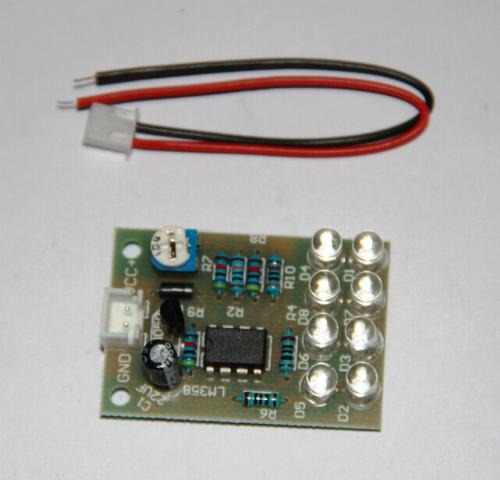 8-светодиодов. Модуль RL019