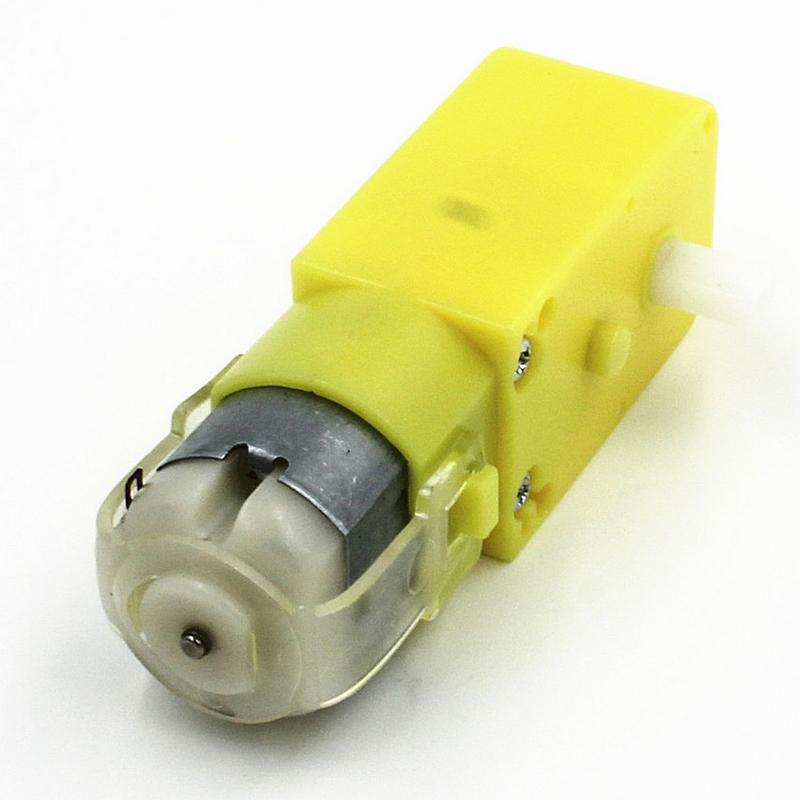 Мотор-редуктор с колесом для робототехнических платформ