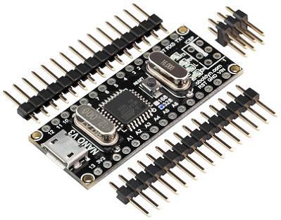 Модуль RC099. Контроллер NANO V3 CH340G (DC 5 В). Rd