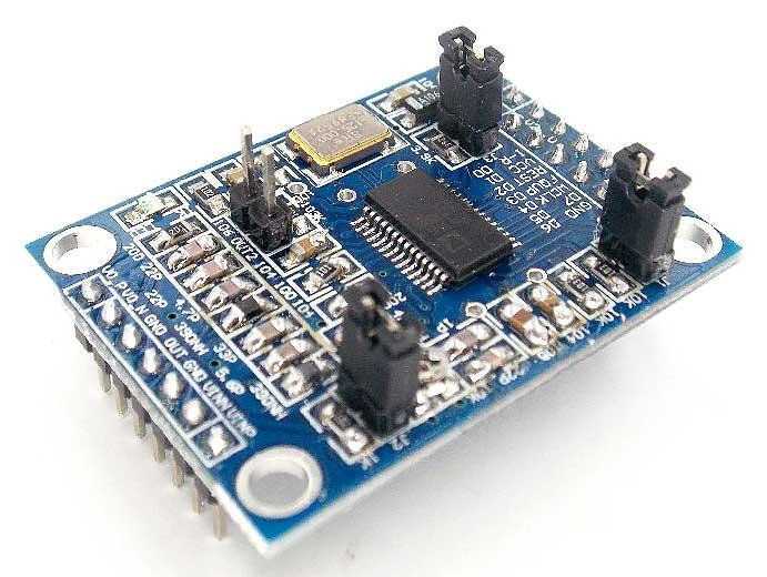 Модуль генератора на AD9850 от 0 до 40 МГц. Модуль RI042