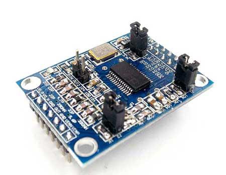 Модуль RI042. Генератор на микросхеме AD9850. 0...40 МГц