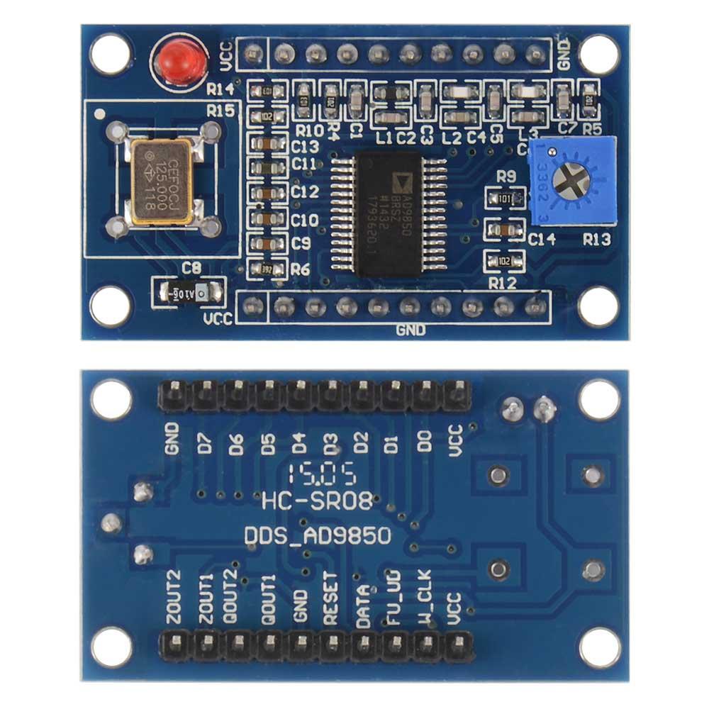 Модуль генератора на AD9850 от 0 до 40 МГц. Модуль RI043