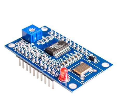 Модуль RI043. Генератор на микросхеме AD9850. 0...40 МГц