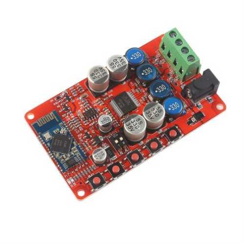 Модуль RS029. Модуль аудиоплеера с Bluetooth V4.0 и усилителем на микросхеме TDA7492P