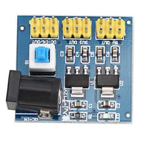 Модуль RP049 . Линейный модуль питания 3.3В, 5В, 12В