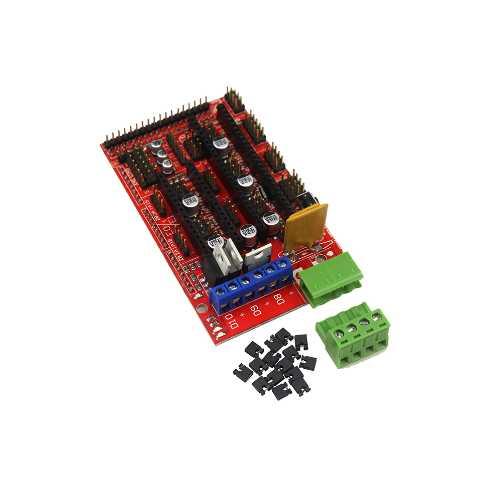 Платформа RAMPS 1.4 для управления 3D принетром. Модуль RC083