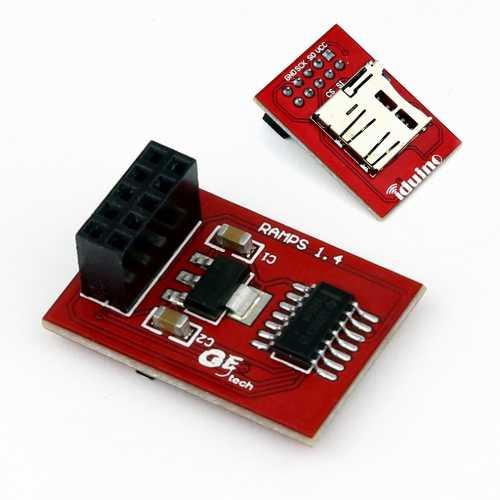 Адаптер Micro SD для Ramps V1.4  . RC085