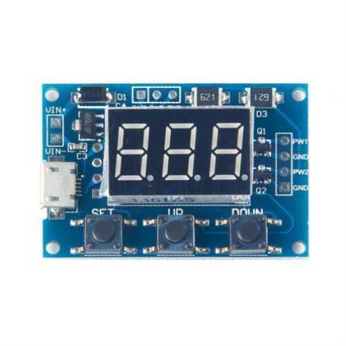 Модуль RI050. Цифровой двухканальный ШИМ генератор 1...150 000 Гц