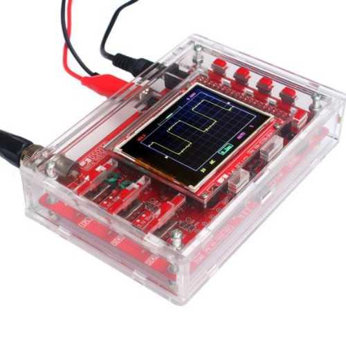 DIY Прозрачный акриловый корпус для RI032  (Цифровой осциллограф DSO138)