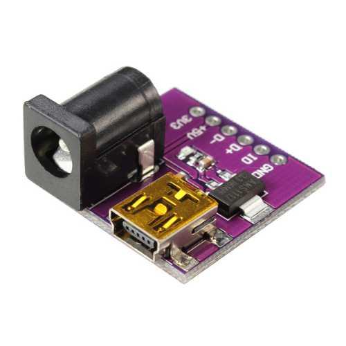 Модуль RP058. Модуль питания Mini USB (AMS1117-3.3V ) 3,3…5 В